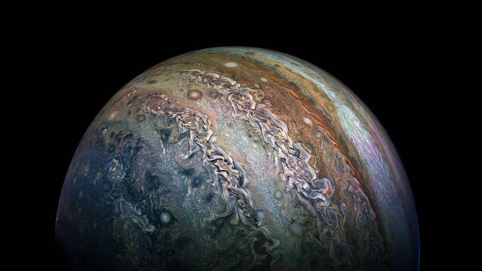 La NASA capta las imágenes más espectaculares de Júpiter