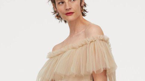 Maravilla es este vestido de tul que H&M ha creado para las invitadas más fashion