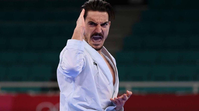 Damián Quintero, medalla de plata en el estreno del kárate olímpico