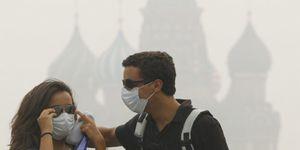 Foto: El calor y el humo aumentan al doble la mortalidad en Moscú