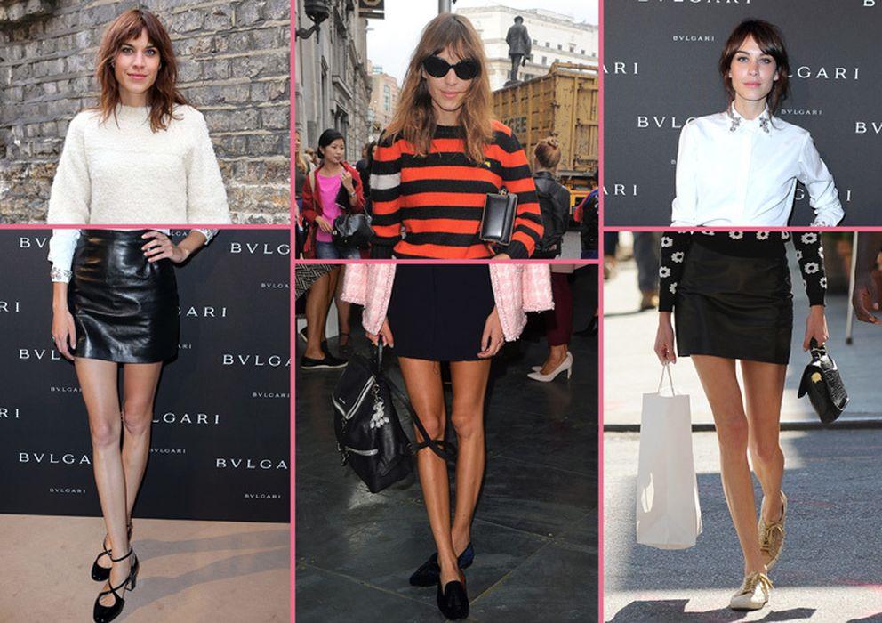 Hazte un m ster en minifalda con alexa chung noticias de moda for Master moda
