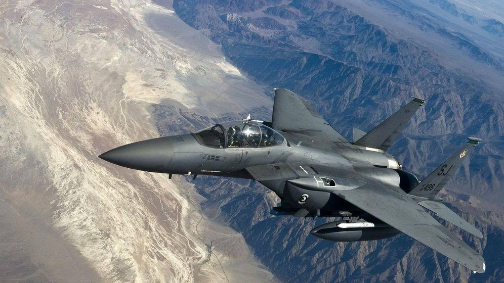 Foto: Imagen de un F-15E Strike Eagle. (USAF)