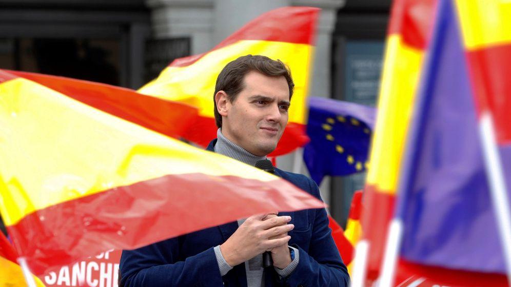 Foto: Albert Rivera este sábado en Madrid. (EFE)