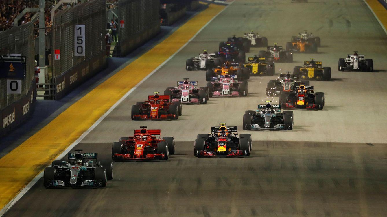 Circuito F1 Singapur : Fórmula gp de singapur las mejores imágenes del gp de