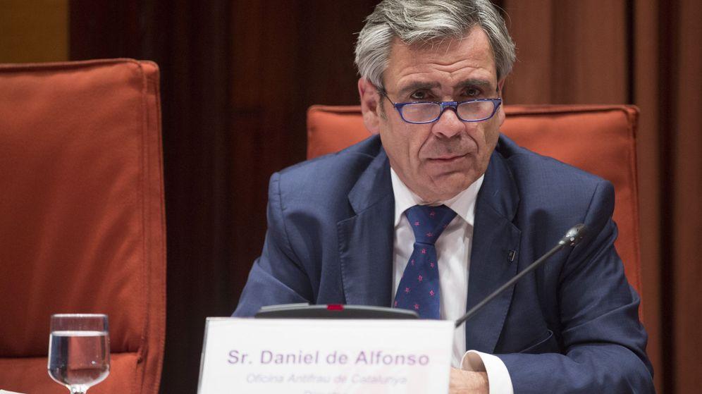Foto: Daniel de Alfonso comparece en el Parlament. (EFE)