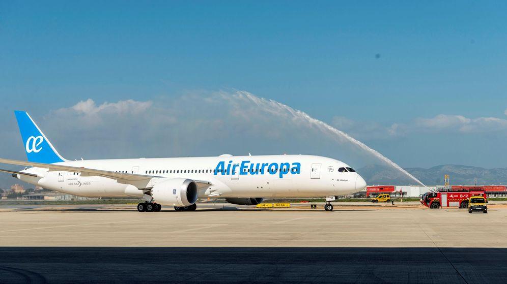 Foto: Foto de archivo de un avión de Air Europa. (EFE)