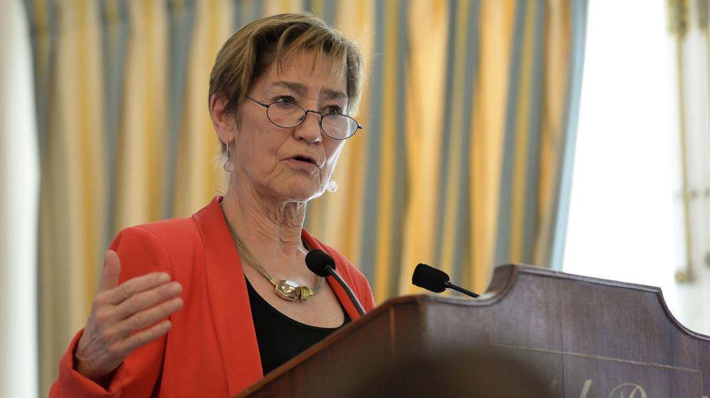 Foto: La presidenta del Consejo General de la Abogacía, Victoria Ortega. (EFE)