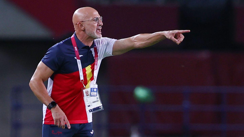 Luis de la Fuente, seleccionador olímpico español de fútbol. (REUTERS)