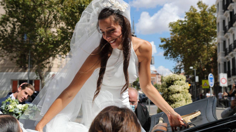El recuerdo a Jesús Gil de su nieta Rocío el día de su boda