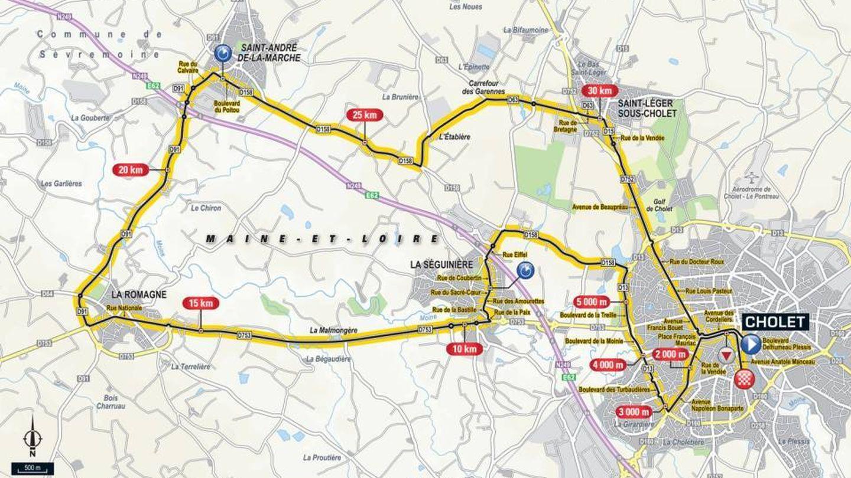 Recorrido de la tercera etapa | Tour de Francia 2018
