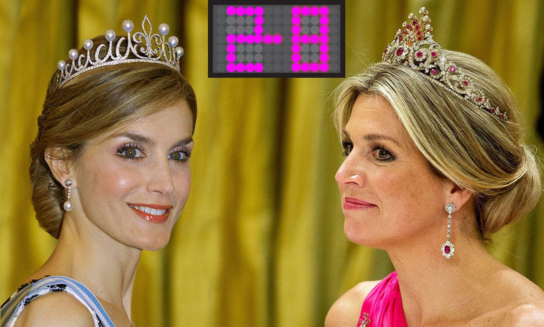 Foto: La reina Letizia vs la reina Máxima de Holanda en un fotomontaje de Vanitatis.