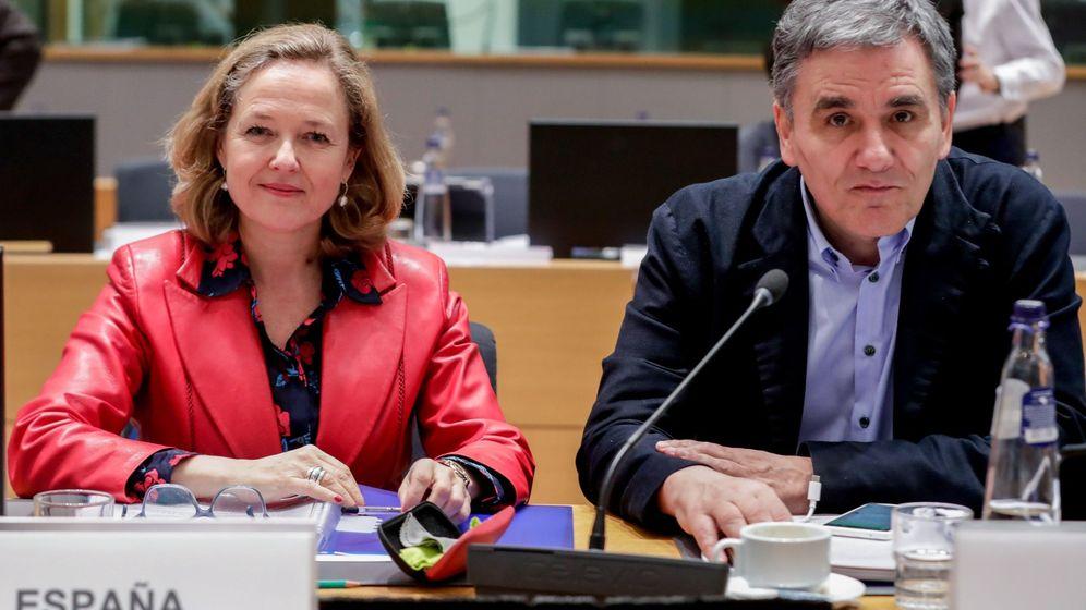 Foto: Reunión del Eurogrupo en bruselas