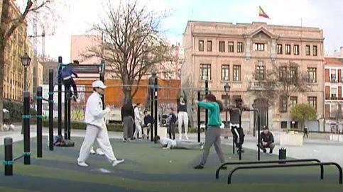 El street workout se afianza en las calles de España