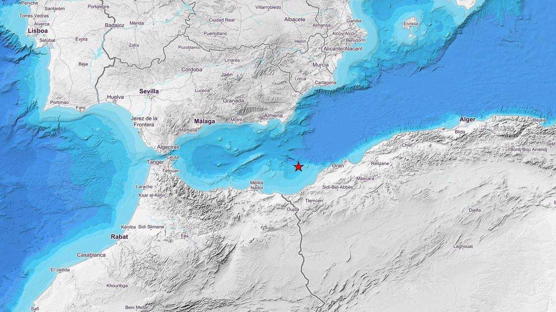 Un terremoto de magnitud 4,8 en Argelia hace temblar Melilla y Andalucía