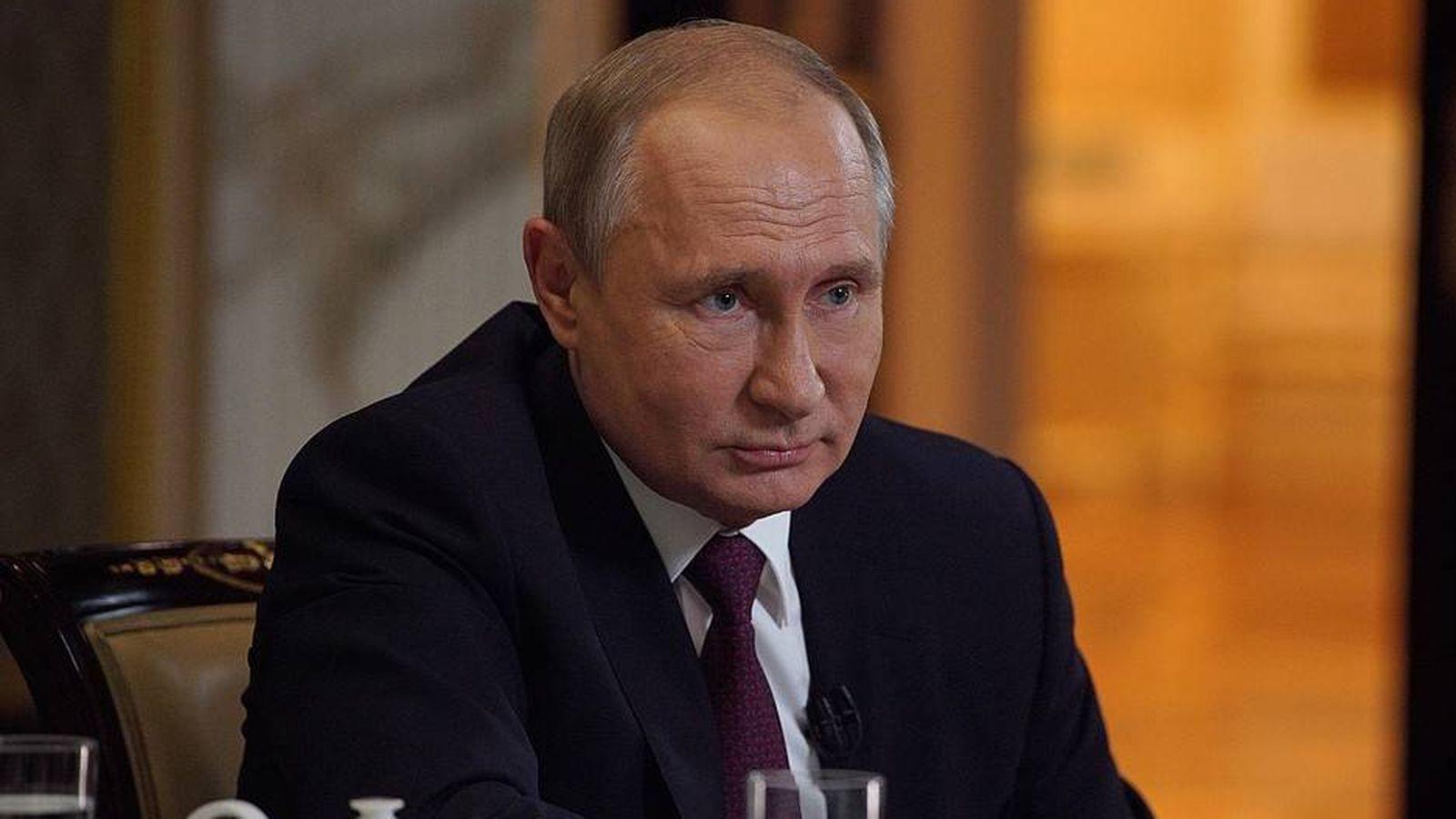 Foto:  Vladimir Putin, durante la entrevista con Oliver Stone. (Kremlin)