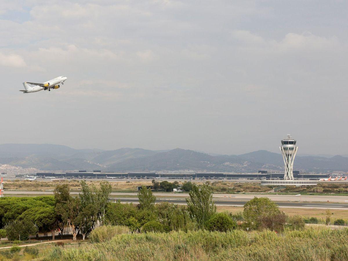 Foto: Aspecto del aeropuerto Josep Tarradellas-Barcelona-El Prat. (EFE)