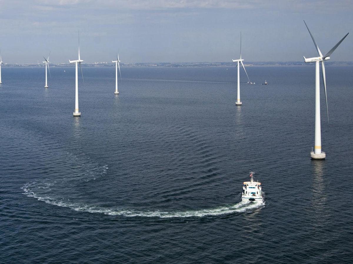 Foto: Parque eólico 'offshore' en Copenhage.