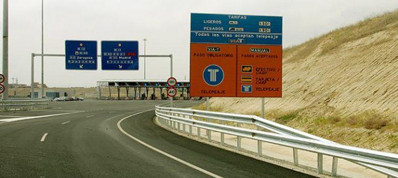Foto: Imagen de la M-12 de acceso a la T-4 de Barajas.