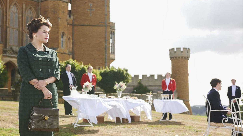 Una imagen de 'The Crown' con el castillo Belvoir de fondo. (Netflix)