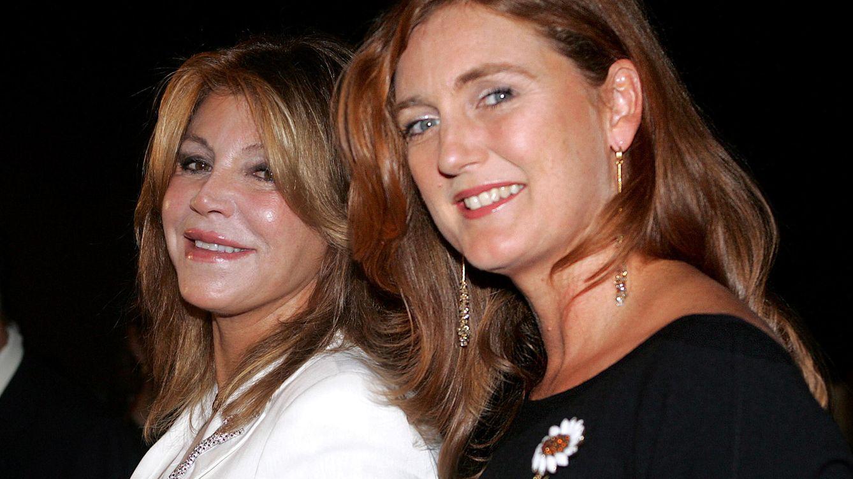 Foto: Carmen Cervera junto a Francesca Thyssen (Gtres)