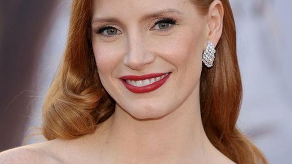 El glamour de Jessica Chastain sobre la alfombra roja