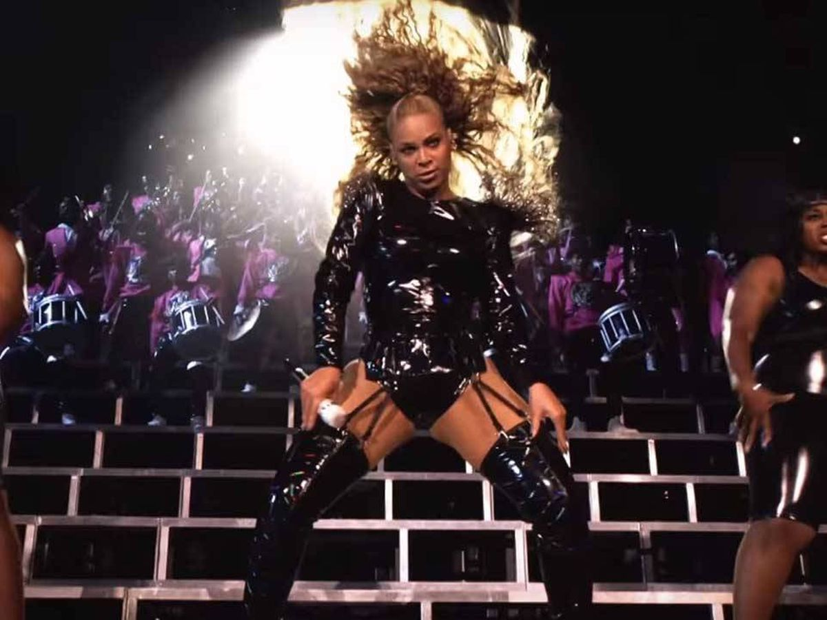 Foto: Beyoncé, en 'Homecoming'. (Netflix)