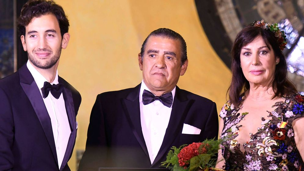 Foto: Miembros de la familia Franco. (Cordon Press)