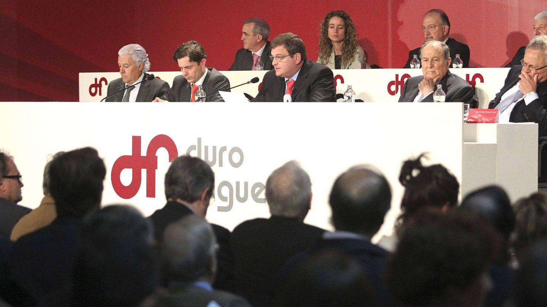 Junta general de accionistas de Duro Felguera. (EFE)