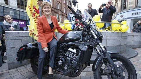 Campaña de Nicola Sturgeon en Escocia