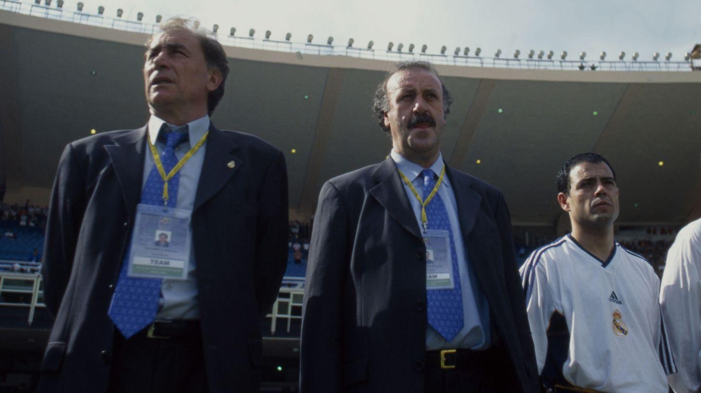 Vicente del Bosque, en sus días como técnico del Real Madrid. (Reuters)