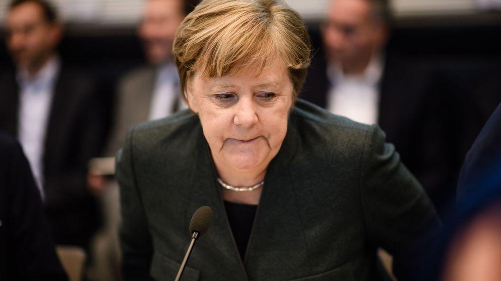 Foto: La canciller alemana, Angela Merkel, en un acto. (Reuters)