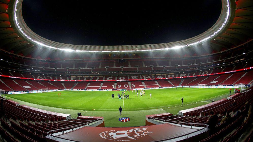 Foto: Vista general del estadio Wanda Metropolitano. (EFE)