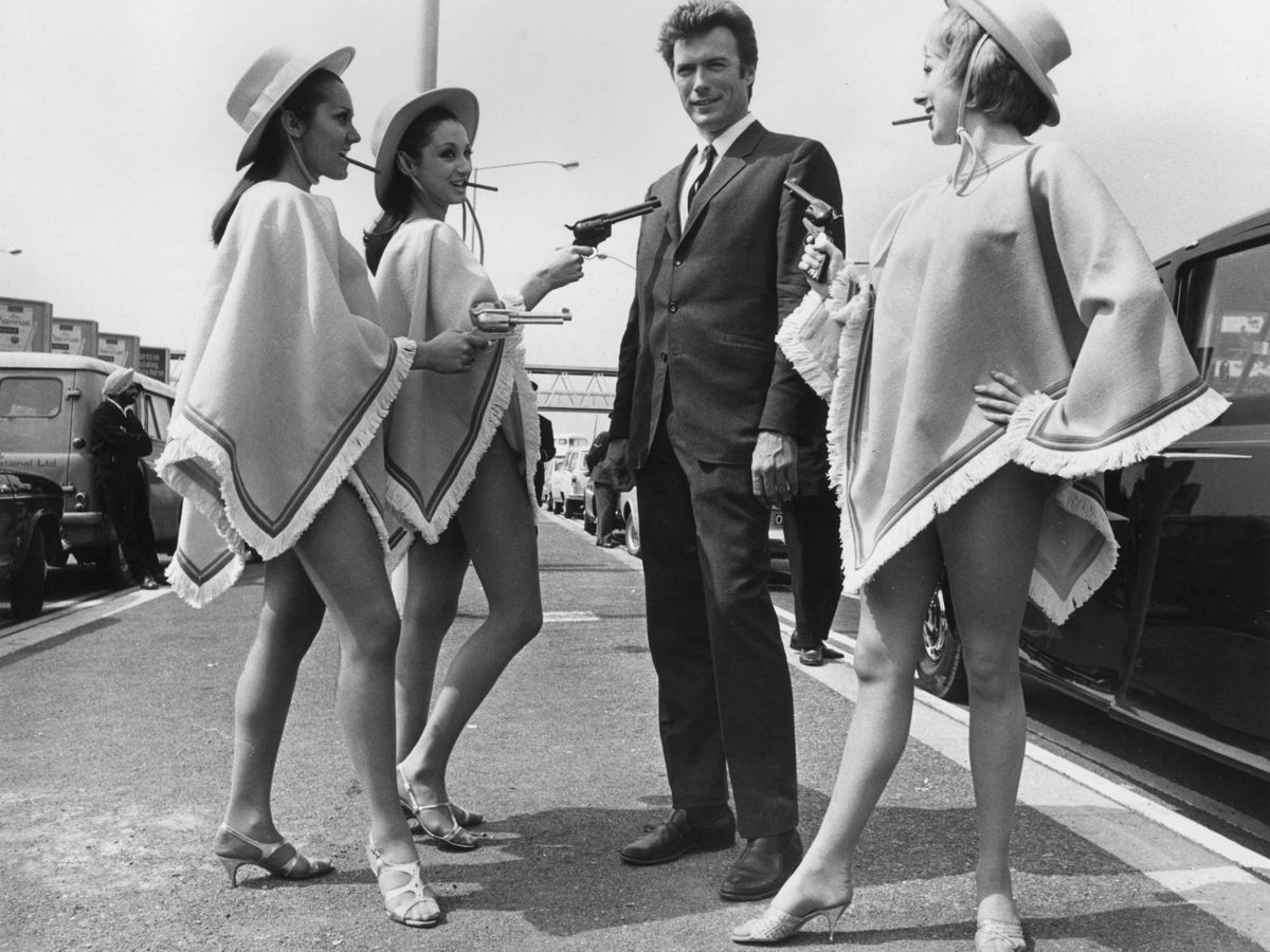 Foto: Clint Eastwood, en una imagen de 1967. (Getty)