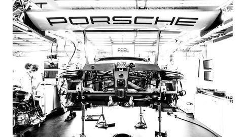 Así se construye el Porsche que competirá en las 24 Horas de Le Mans