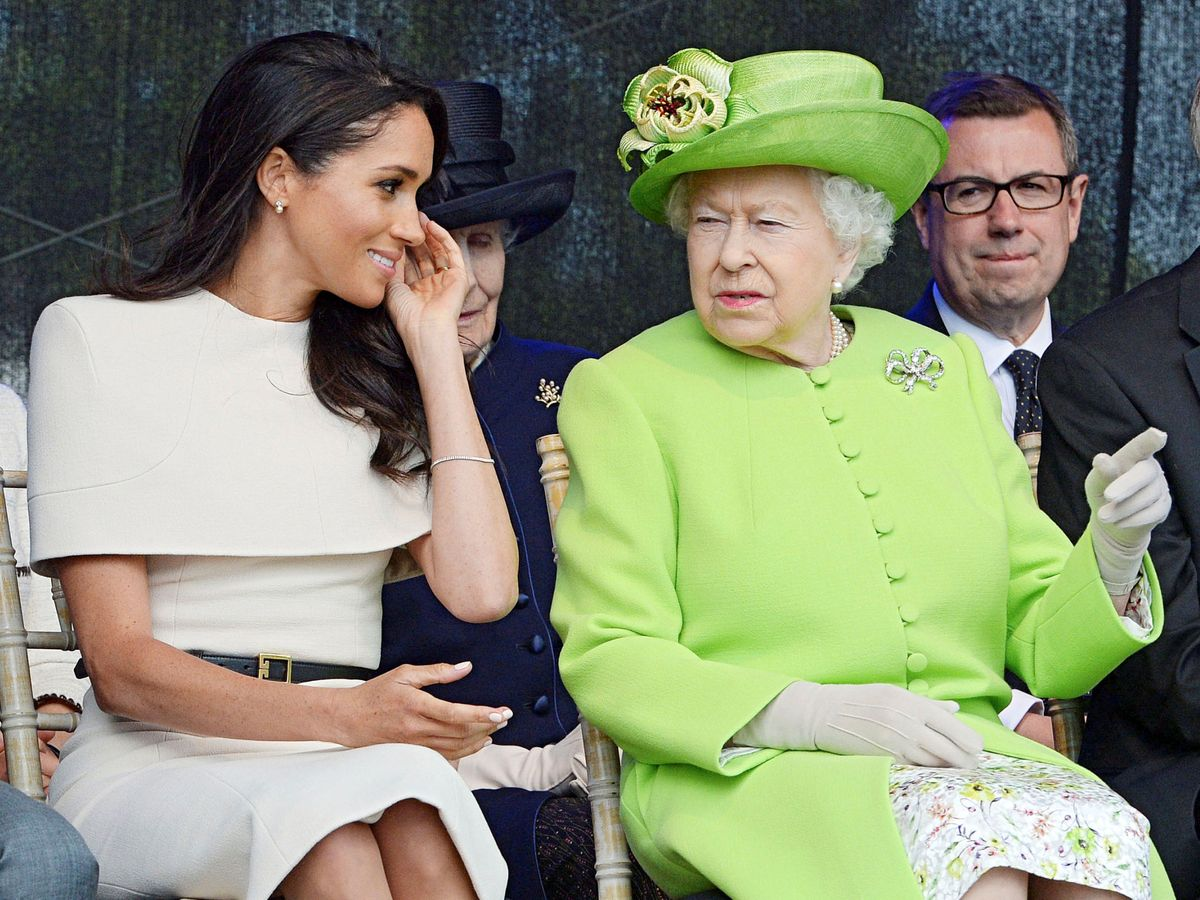 Foto: Meghan Markle y la reina Isabel, en una imagen de archivo. (Reuters)