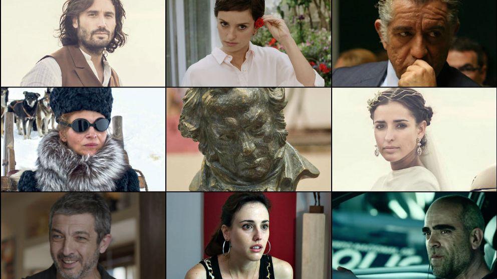 Ellos son los actores y actrices que brillarán en los premios Goya