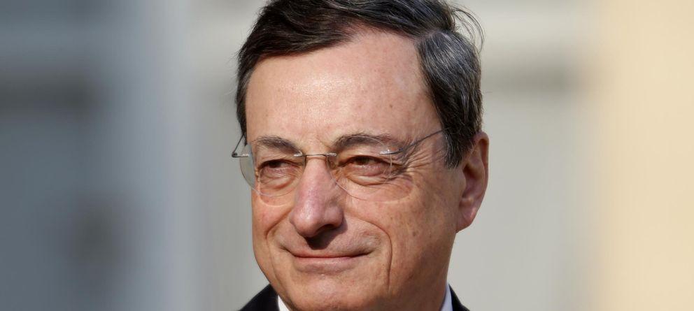 Foto: El presidente del Banco Central Europeo (BCE), Mario Draghi