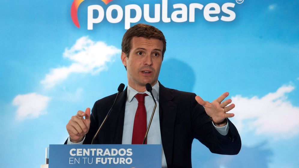 Foto: Acto electoral del PP en Santander (Efe)