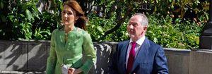 """Rodrigo Rato y Alicia González, de boda """"con la que está cayendo"""""""