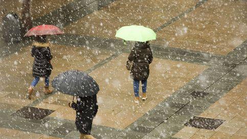 El tiempo ayuda a quedarse en casa: llegan lluvias, frío y nevadas hasta el miércoles