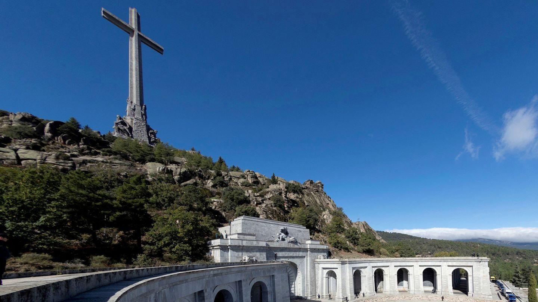 Imagen del Valle de los Caidos durante la exhumación de Francisco Franco. (Reuters)