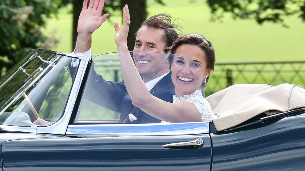 Las fotos del enlace entre Pippa Middleton y James Matthews