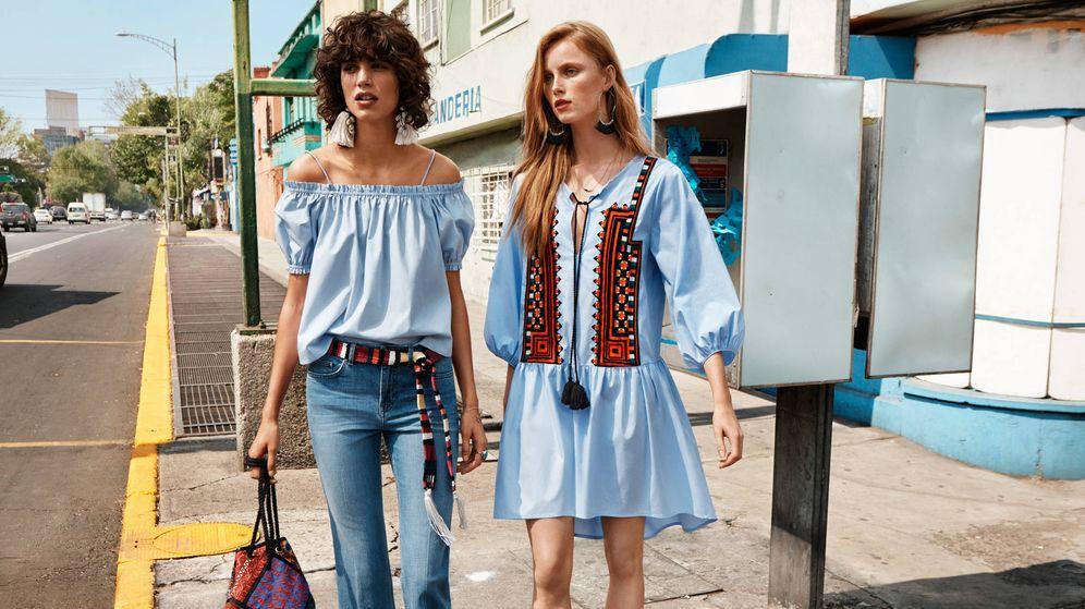 Foto: De lino, fibras naturales o algodón. Tus vestidos de playa merecen una segunda vida. (Imagen: H&M)