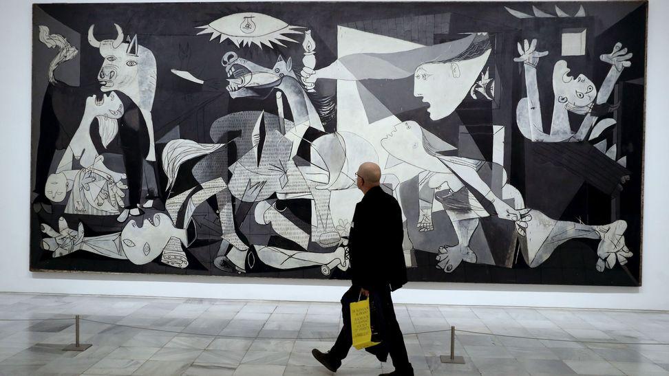Las Pinturas que te Gustan; Picasso-no-retrato-la-guerra-civil-en-el-guernica-es-un-cuadro-autobiografico
