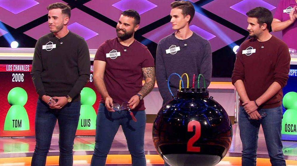 Foto: 'Los chavales', concursantes de '¡Boom!'. (Atresmedia Televisión)