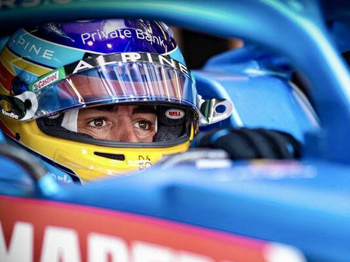 Foto: Por primera vez en 2021 Alonso considera que clavó todas los bloques de la sesión clasificatoria, con la mejor posición del año