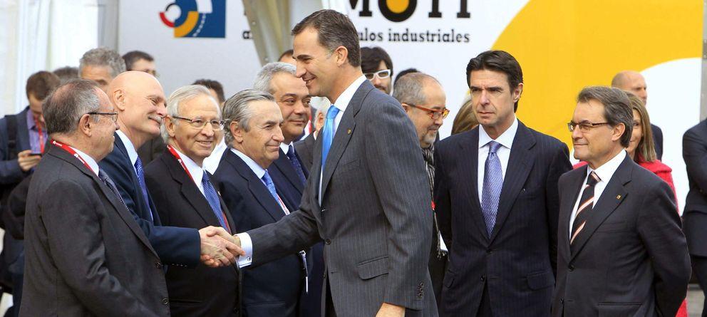 Foto: El príncipe Felipe inaugura el Congreso Mundial de Móviles (WMC) en Barcelona. (EFE)