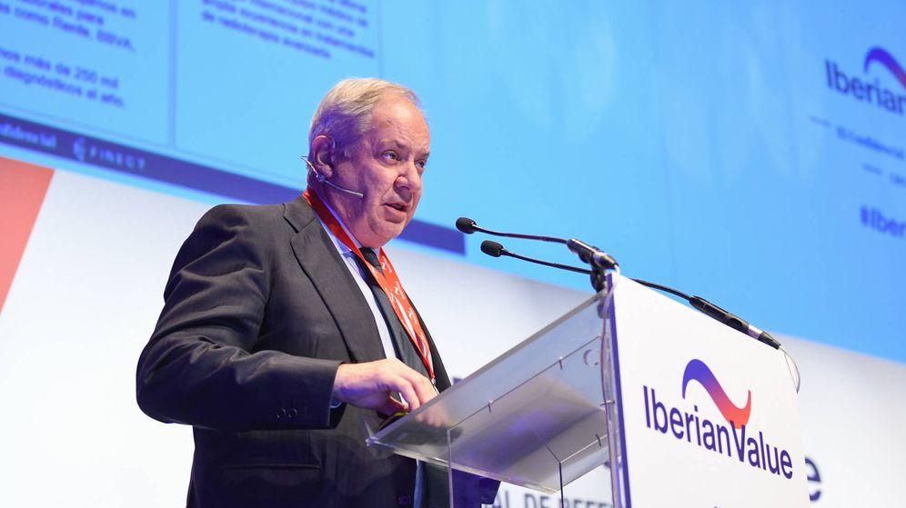 Foto: Santiago de Torres, presidente ejecutivo de Atrys Health, durante su intervención en el III Iberian Value.