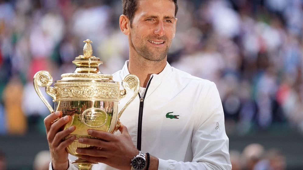 Foto: Novak Djokovic ya tiene 16 títulos de Grand Slam, incluidos cinco Wimbledon. (EFE)