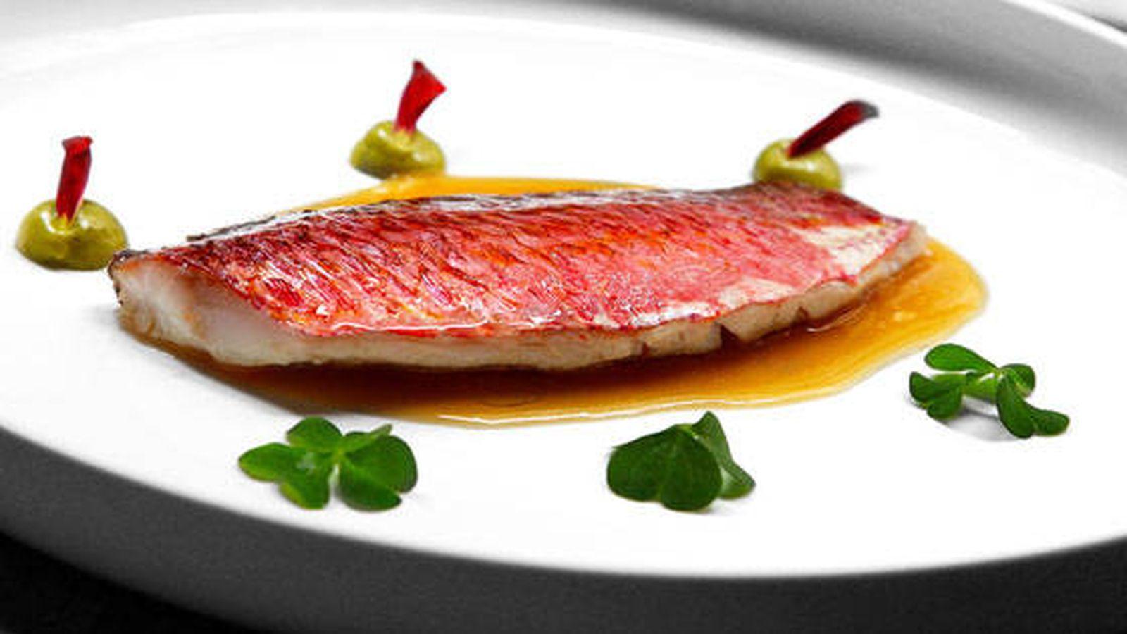 Foto: Plato de pescado en Bistronómika.